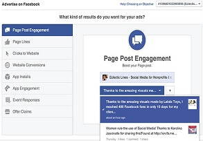 Engage your fans with great content on your Page